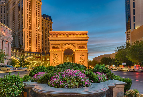 arcdetriomphe hdr lasvegas lasvegasstrip nevada nikon nikond5300 paris parislasvegashotel southlasvegasblvd buildings car cars city clouds flowers geotagged hotel lights longexposure sky street sunrise windows unitedstates