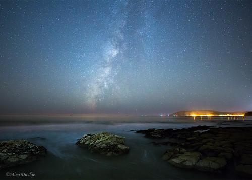 milkyway astrophotography longexposure night stars avila avilabeach shellbeach sanluisobispocounty getty gettyimages mimiditchie mimiditchiephotography