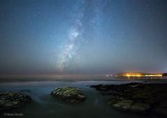 The Milky Way and Avila Beach