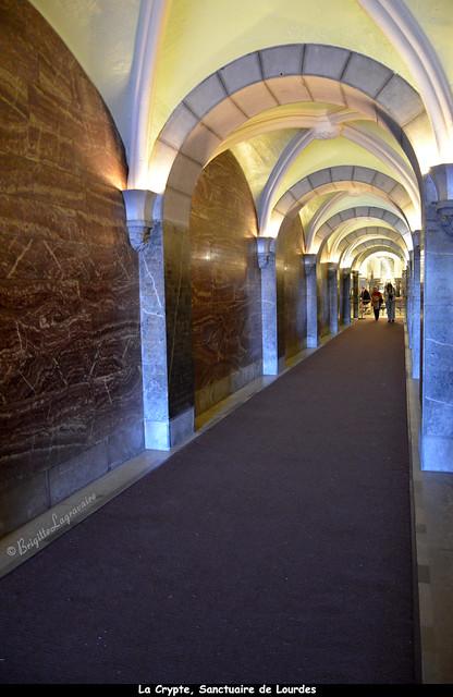La Crypte du Sanctuaire de Lourdes (Hautes-Pyrénées)