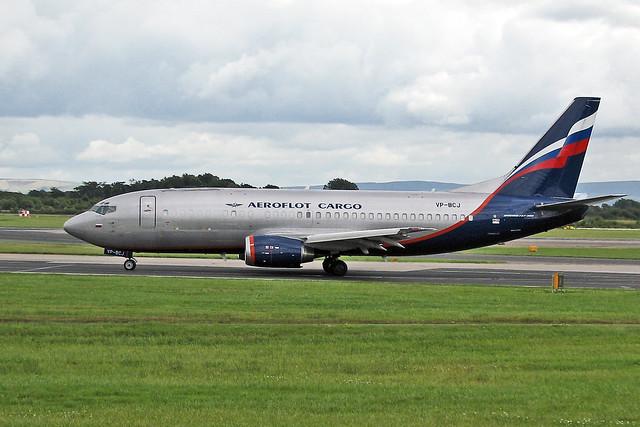 VP-BCJ Boeing 737-3Y0F Aeroflot Russian Airlines MAN 20-07-08