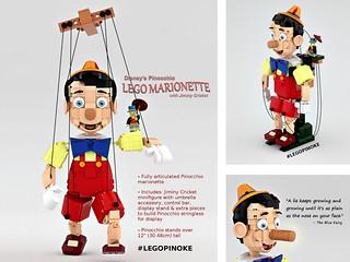 LEGO Pinoke 3x a charm