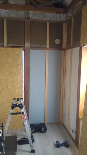 和室の砂壁を Osb 合板で大壁化 Diy 日記 新宿から青梅へ