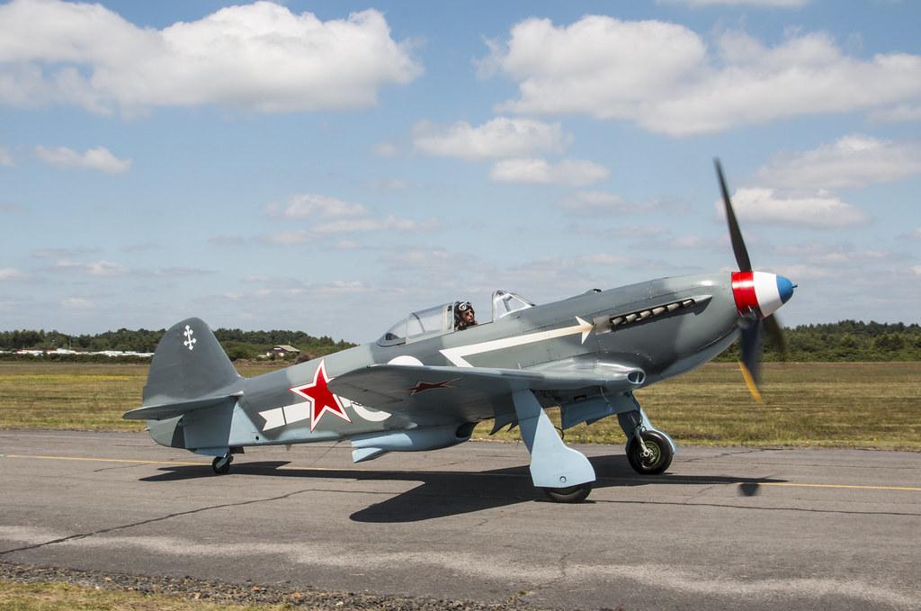 EGLK - Yakovlev Yak-3UA - G-OLEG