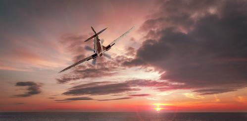 transport aircraft launton england unitedkingdom gb