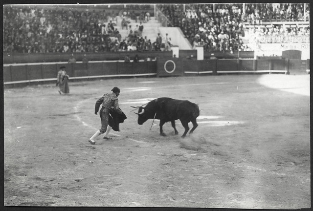Archiv See060 Stierkampf in Santa Cruz, Teneriffa, 1925