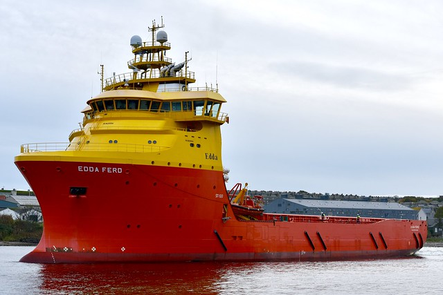 Edda Ferd - Aberdeen Harbour Scotland 24/10/17
