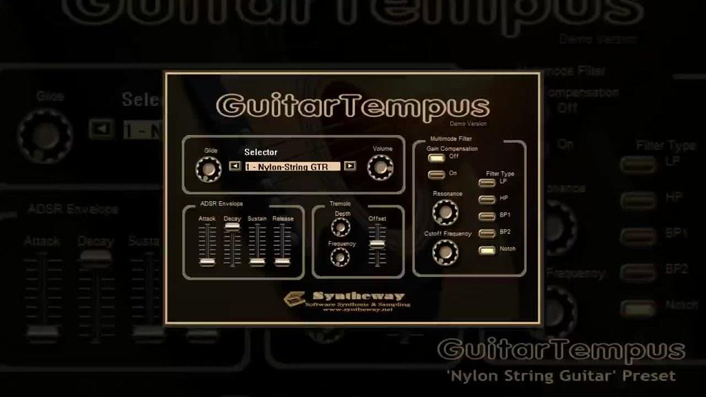 virtual guitar vst guitartempus nylon six twelve stee flickr. Black Bedroom Furniture Sets. Home Design Ideas