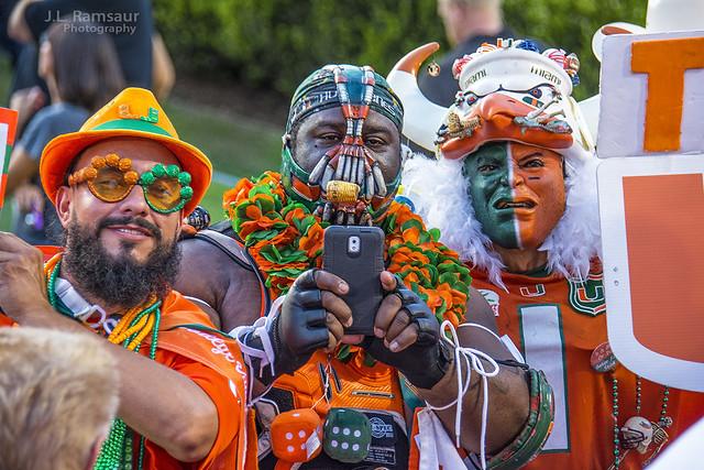 Miami Hurricane Fans - The U
