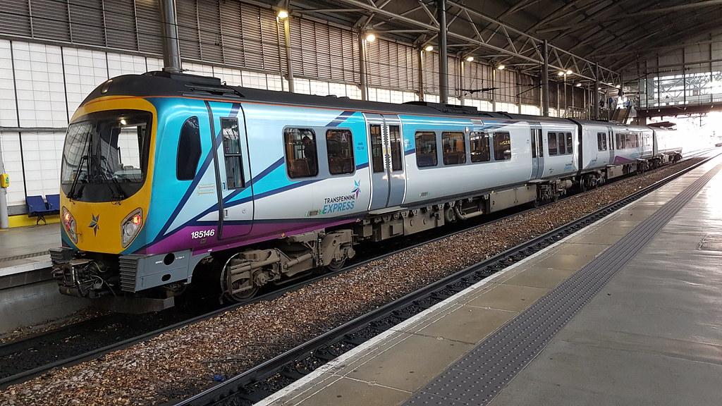 Trans Pennine Express 185146 1P43 1423½ York - Manchester … | Flickr