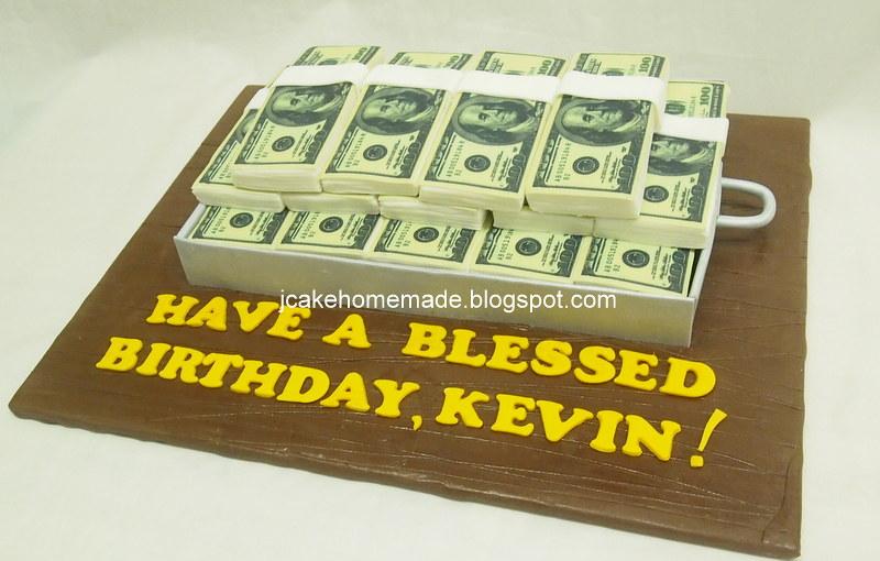 Phenomenal Money Birthday Cake Happy Birthday Kelvin Thanks Michelle Funny Birthday Cards Online Kookostrdamsfinfo