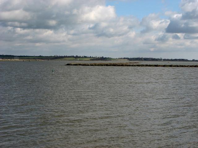 The River Crouch and Bridgemarsh Island