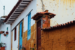 Colorful Architecture, Barichara Colombia