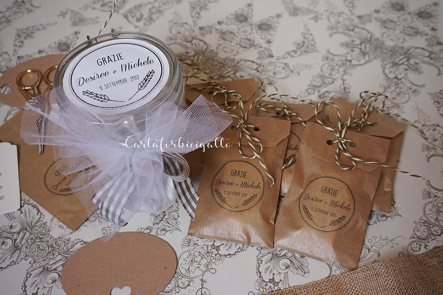 Bomboniere matrimonio handmade - Wedding favors