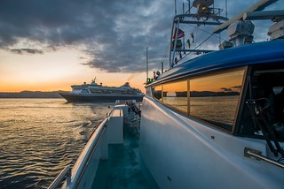 Fjord cruise to Mostraumen - The sunset   by Aviation & Maritime