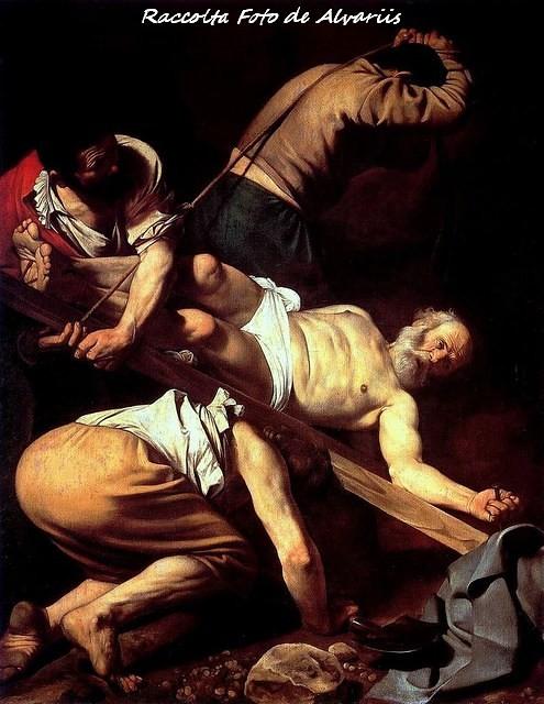 1600 ca Martirio di San Pietro, del Caravaggio, Foto By Wikypedia