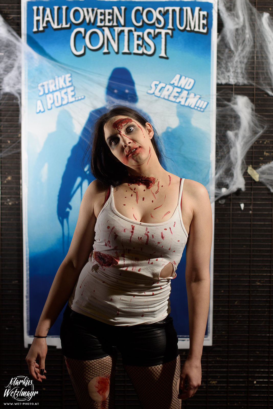 "#2 - Melanie Weber, ""Zombie"" - Everyday is Halloween, 15 Years of BZFOS"