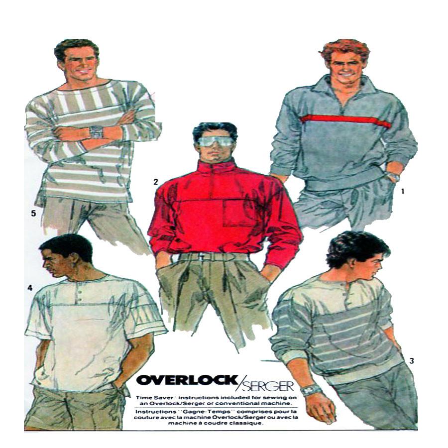 Simplicity 8410 men sewing pattern | Men Sportswear, Simplic