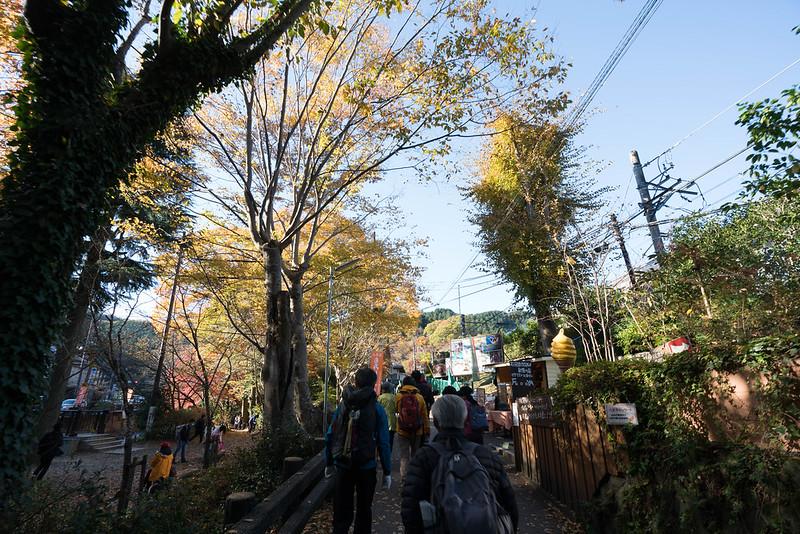 高尾山の参道