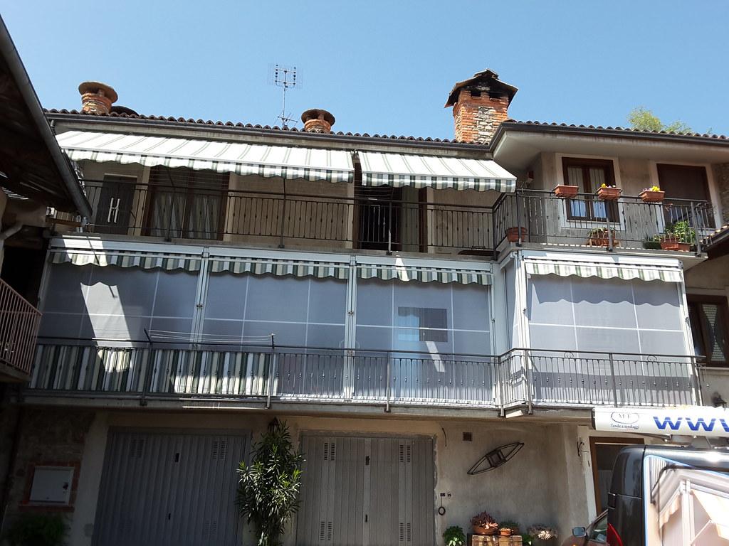 Tenda veranda Torino estate inverno