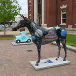 Star, by Cecilia Smith, Horse Sculpture