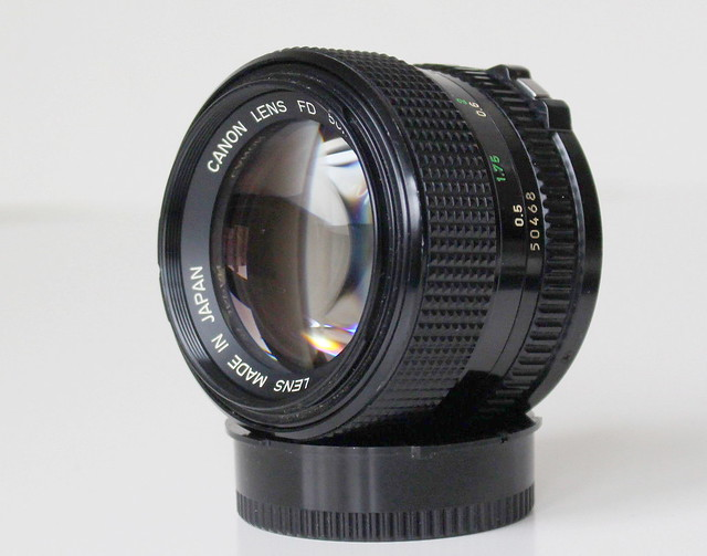 Canon nFD 50mm ƒ/1.2