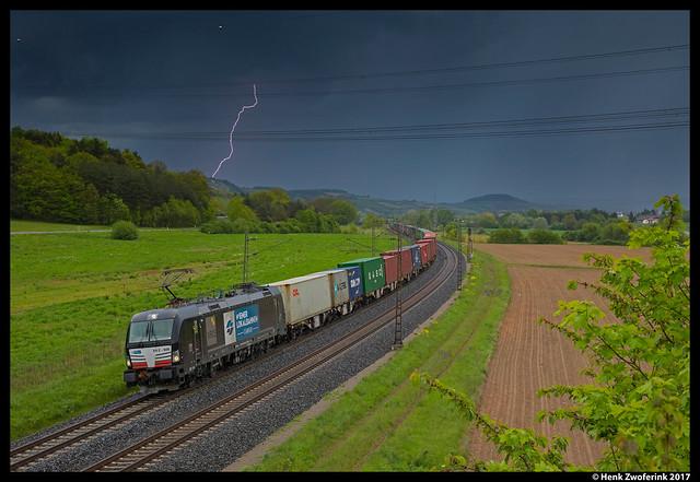 Wiener Lokalbahnen Cargo 193 606, Harrbach 13-05-2017