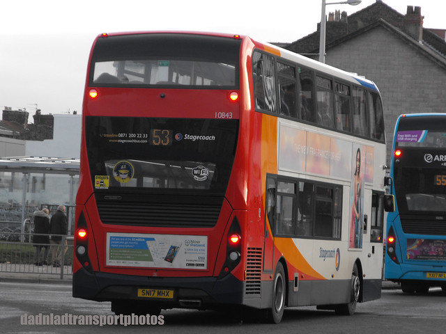 Stagecoach 10843 SN17MH.