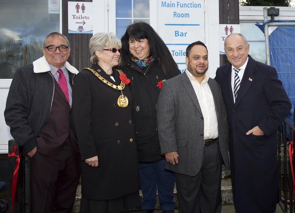 Ossie Ardiles unveils impressive stadium upgrade for Welwyn Garden City FC