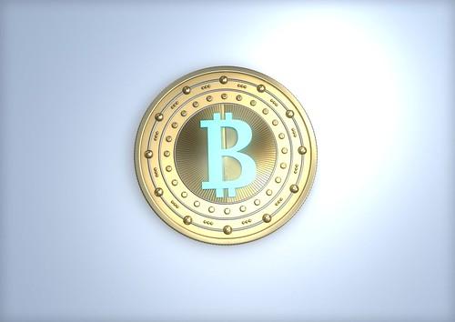 Bitcoin - einzeln blau - Schein | by Christoph Scholz