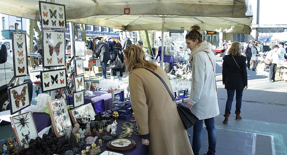 Rommelmarkt in Antwerpen, Antwerpen op zondag | Mooistestedentrips.nl