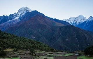 Namche Bazar _09_ Hinku Himal   by Valentin Groza