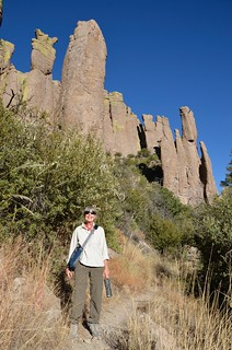 Chiricahua National Monument Linda and the hoodoos | by Pierre Yeremian
