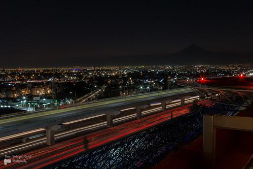 Libramiento (Puente) Elevado de la Autopista Puebla-México