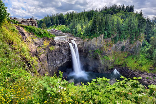 markwhitt markwhittphotography washington pacificnorthwest snoqualmiefalls usa waterfall green trees water plants scenic scenery landscape nature trave adventure vacation nikon outdoors