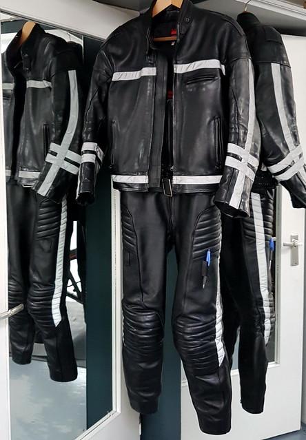RoB Dutch mc police leather suit & jacket 10