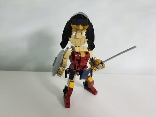 Wonder woman deformed action figure!
