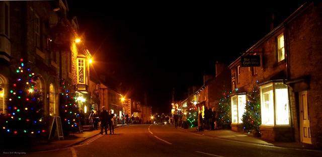 castleton derbyshire 2017 christmas lights switch on  (1)