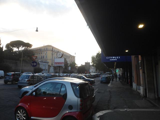 CITYPLEX EUROPA & Muralla Aureliana & Sottovia Ignazio Guidi, Roma, Italia/Rome, Italy - www.meEncantaViajar.com