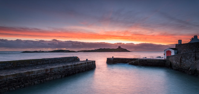 Sunrise at Coliemore Harbour