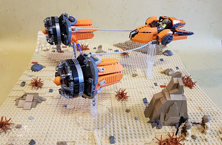 "Daaz Spartaaz's podracer ""The Splitter"" 