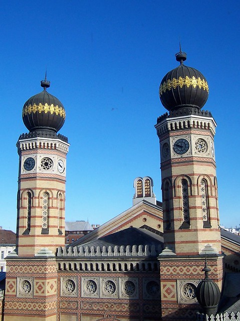 Budapest Synagogue - the largest in Europe