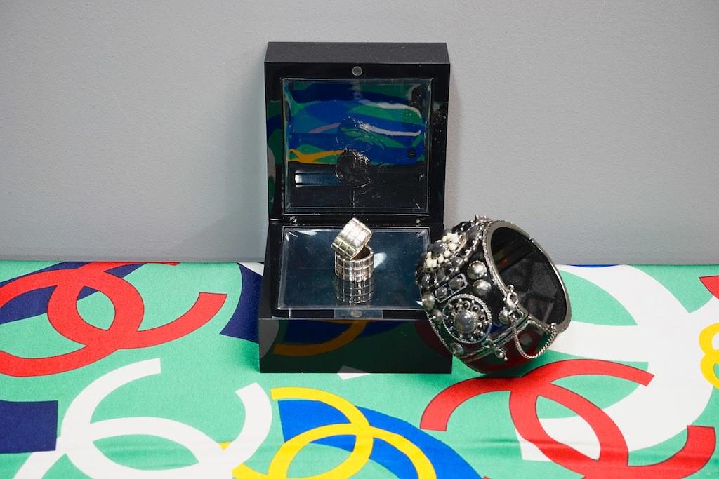 Bracelet: Chanel Rings: Chanel