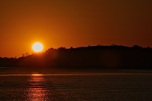 Sunrise at Castle Island in South Boston | by phigphotos