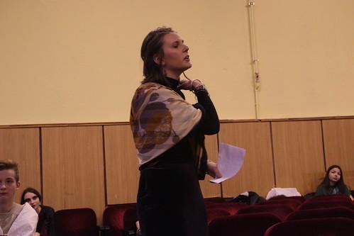 Окт 4 2014 - 14:13 - Театрализованное судебное действие «Проклятие Атридов» по мотивам древнегреческой трагедии.