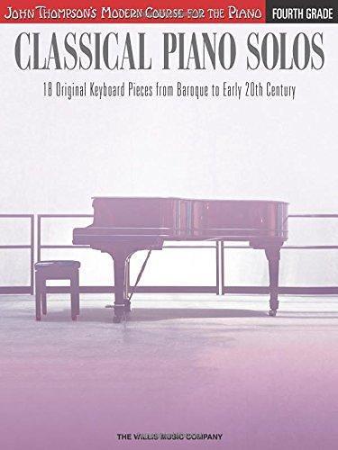 PDF Classical Piano Solos - Fourth Grade: John Thompson s …   Flickr
