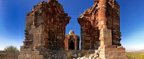 hindu temple malot pakistan panorama ruins mandir remains saltrange