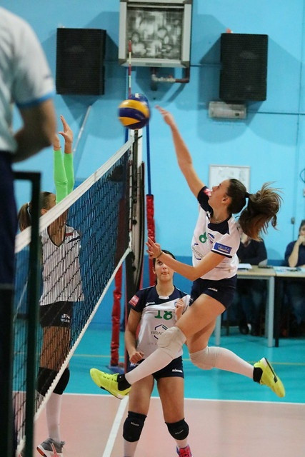 U16 BLU 7 Novembre 2017 Bracco Pro Patria  - Cusano Volley 3 - 0