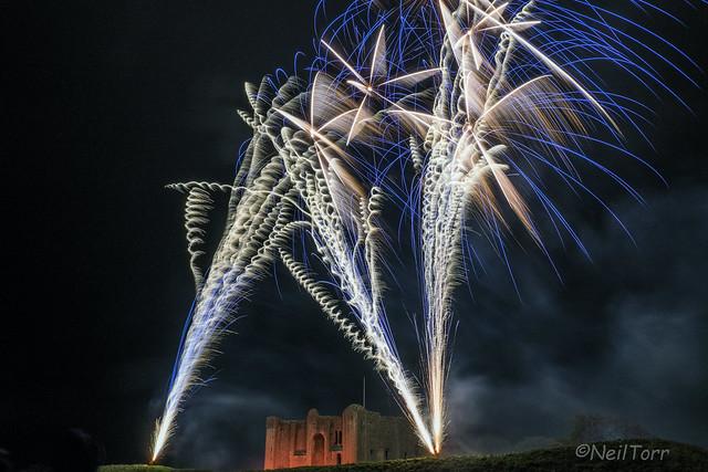 Castle Rising Fireworks 3
