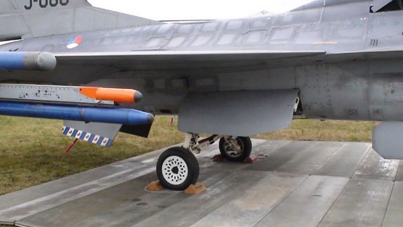 F-16BM MLU 3